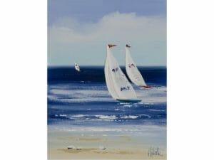Trio of Sailing Yachts